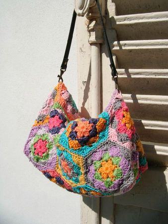 pochette hexagones crochet 017