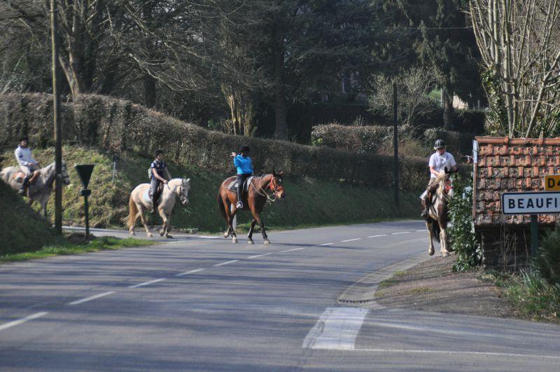 La Balade du Jambon - Balade à cheval dans le mortainais (30)