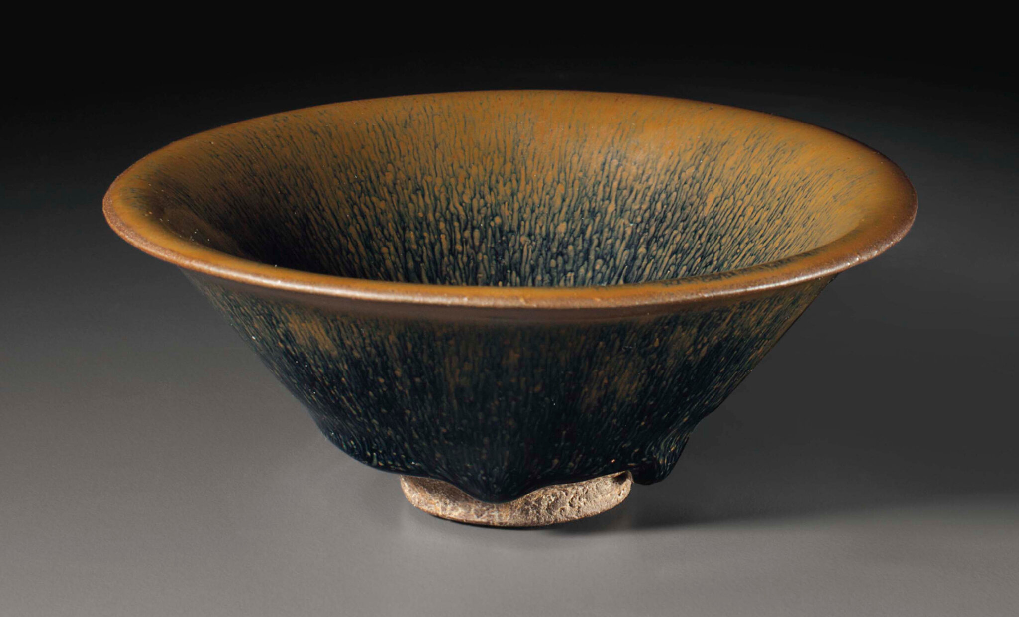 A Jianyao 'hare's fur' tea bowl, Song Dynasty, 12th-13th century