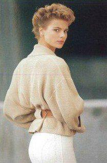 ALAIA petite veste ceintur dos 1985