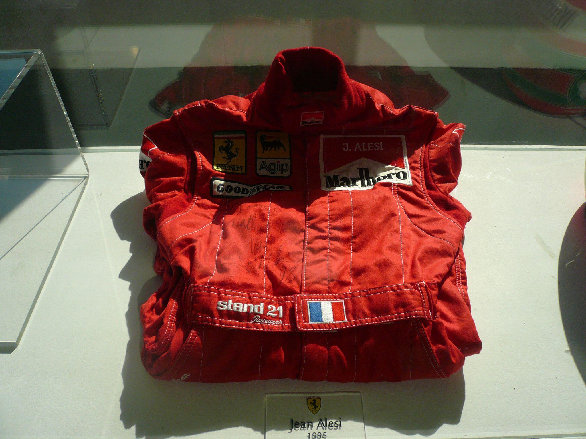 combinaison Alesi chez Ferrari