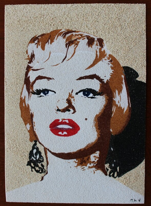 Marilyn sticker colors