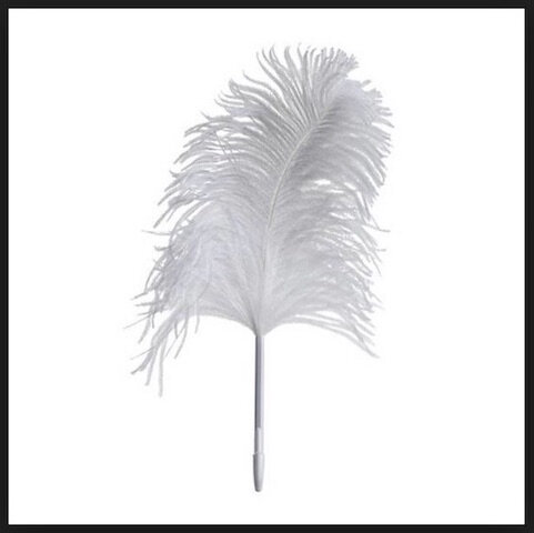 made in design stylo bille plume autruche 2