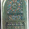 Amiens - cathédrale - rosace sud