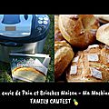 🥖🍞 du bon pain maison? je dis oui grâce à ma jolie machine... 🥖🍞