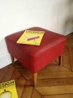 footstool rouge