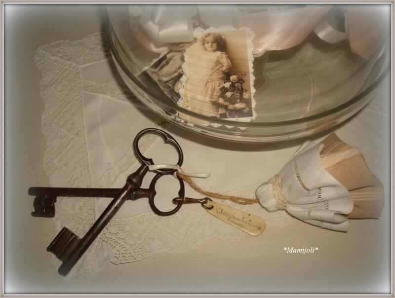 gland coton dentelle et toile à Matelas
