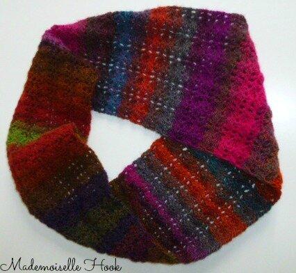 Snood multicolore 6