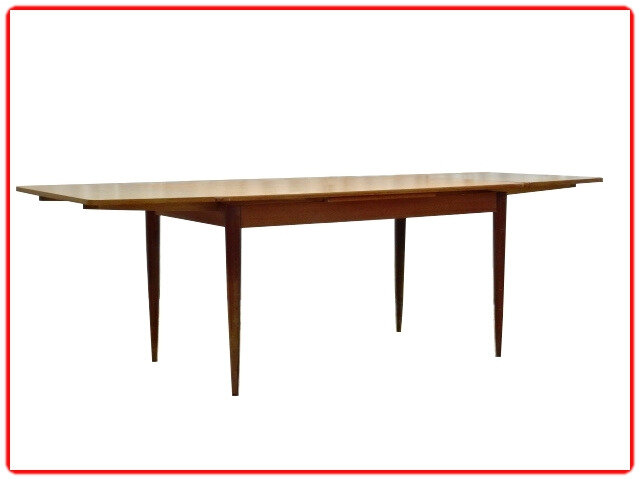 Table repas scandinave extensible