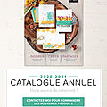 Nouveau catalogue et promo stampin'up