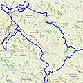 Gps drawing near toulouse : sanglier