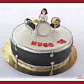 Gâteau batterie