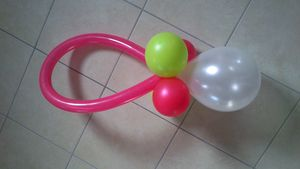 Tétine en ballons