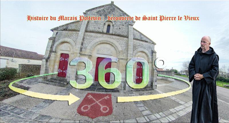 Histoire du Marais Poitevin découverte de Saint Pierre le Vieux