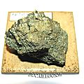Pyrite s1122 - italie.ile d'elbe - collection mineraux