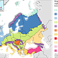 Biogeographical regions of Europe