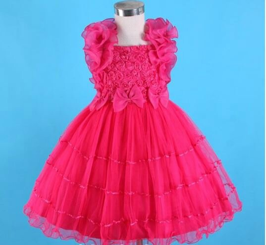078d3486fcdf6 Robe rose fille 5 ans - Mariage Toulouse