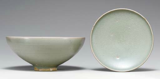 Two green Junyao vessels, Song dynasty (960-1279)