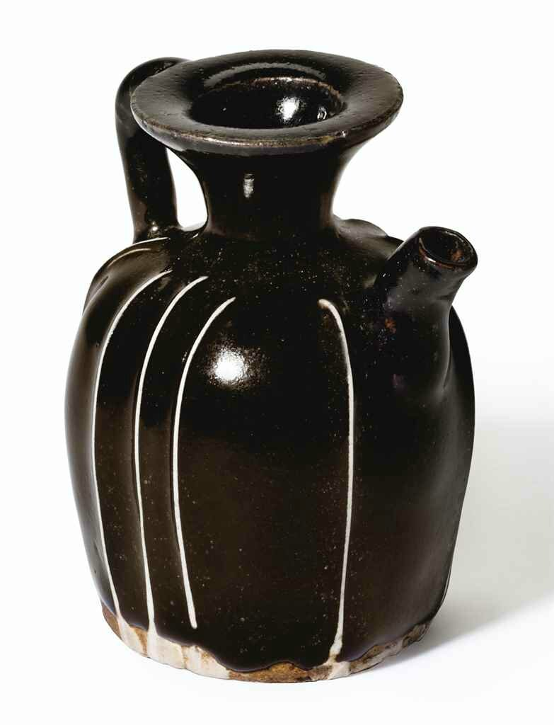 A miniature black-glazed ewer, Northern Song-Jin dynasty (960-1234)