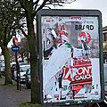 2014, le panneau à Montreuil