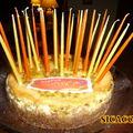 Cheesecake aux maracujas