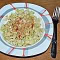 Chou rave en salade