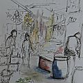 Maroc / morocco (1) tanger en croquis / sketches of tangier