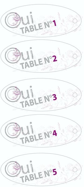 Plan de table - 1