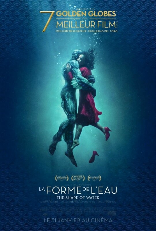 The Shape of Water affiche