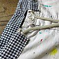Restauration de mon pantalon d'atelier