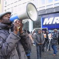 Sit In 17 Jan 2009 devant le MR à Bruxelles