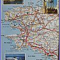 00 Finistère - Chateau de Brest - Calvaire St Thgonnec - Pointe du Raz