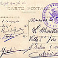 43e RAC classe 1914 62e battrerie, Versailles août-septembre 1914