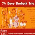 Dave Brubeck Trio - 1949-50 - Distinctive Rhythm Instrumentals (Fantasy)