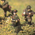 WW2 Red Army 10mm scale infanterie
