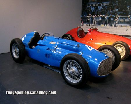 Talbot type 26C monoplace GP de 1949 (Cité de l'Automobile Collection Schlumpf à Mulhouse) 01