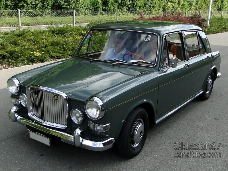 Vanden Plas Princess 1100 Mark II-1967-01