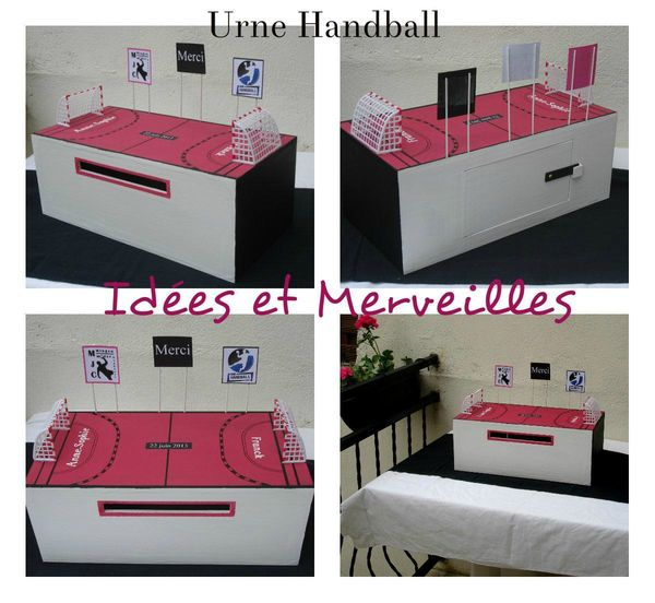 urne handball- ideesetmerveilles