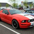 Ford mustang GT coupé (Rencard du Burger King mai 2010) 01