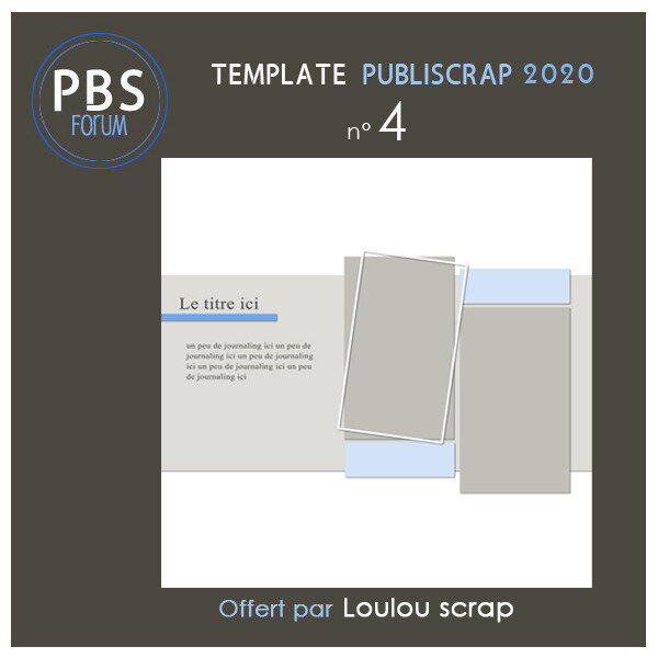 0 -Template PBS 2020-4 by Loulou