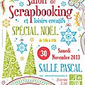 Salon du scrapbooking à carvin