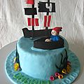 Gâteau pirate - pirate cake