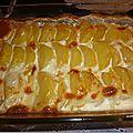 Pomme de terre gratinés au fromage