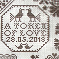 Long dog sampler - the token
