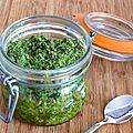 Pesto d'hiver au chou kale et aux noix de cajou