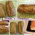 Cake au saumon et raifort