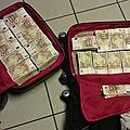 Valise magique et mystique d'argent,valise qui produit en dollars
