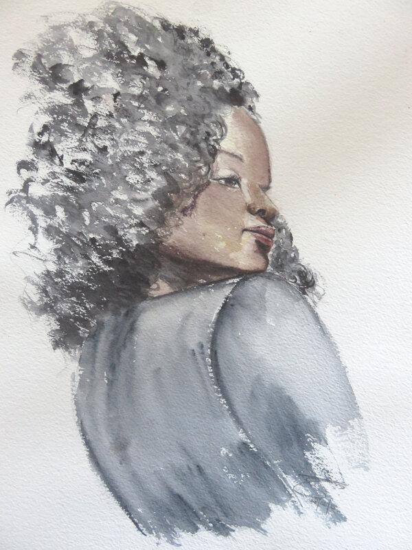 US black girl