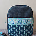 sac a dos fusée Charly 1