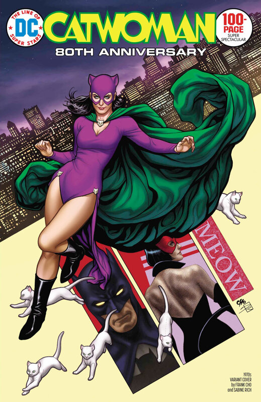 catwoman 80th anniversary special 1970 frank cho variant